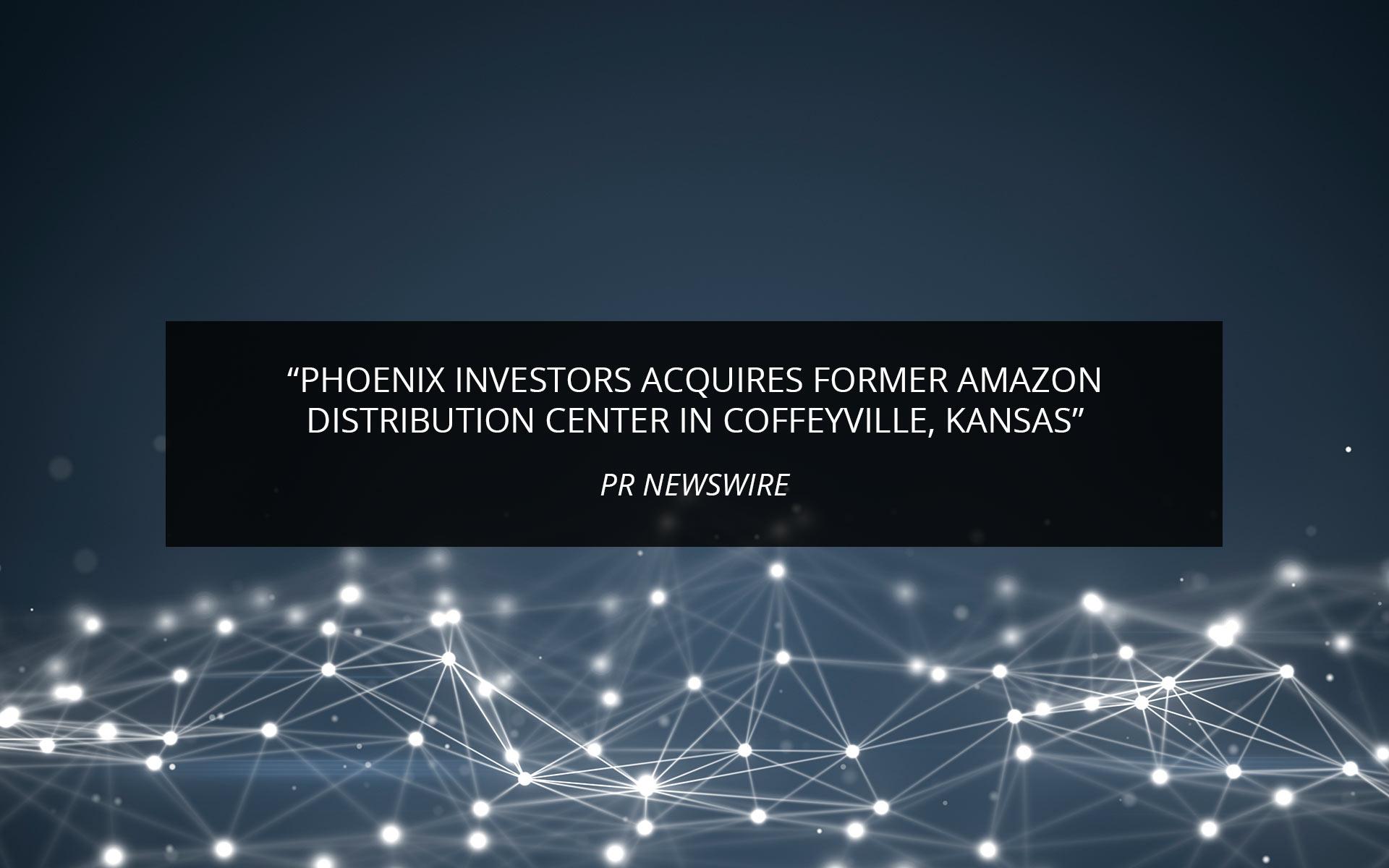 Coffeyville Press Release | Phoenix Investors