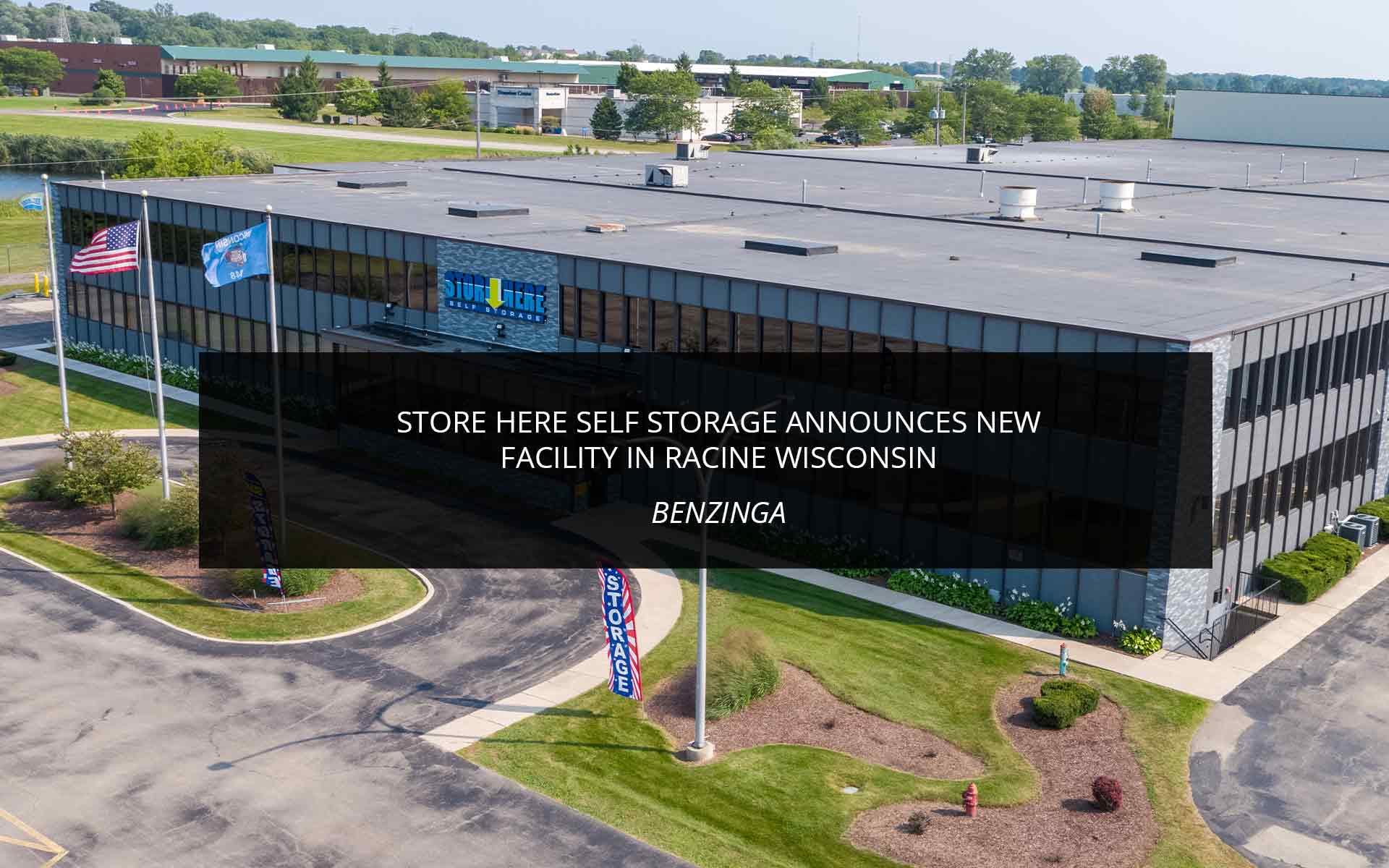 Store Here Opens in Racine