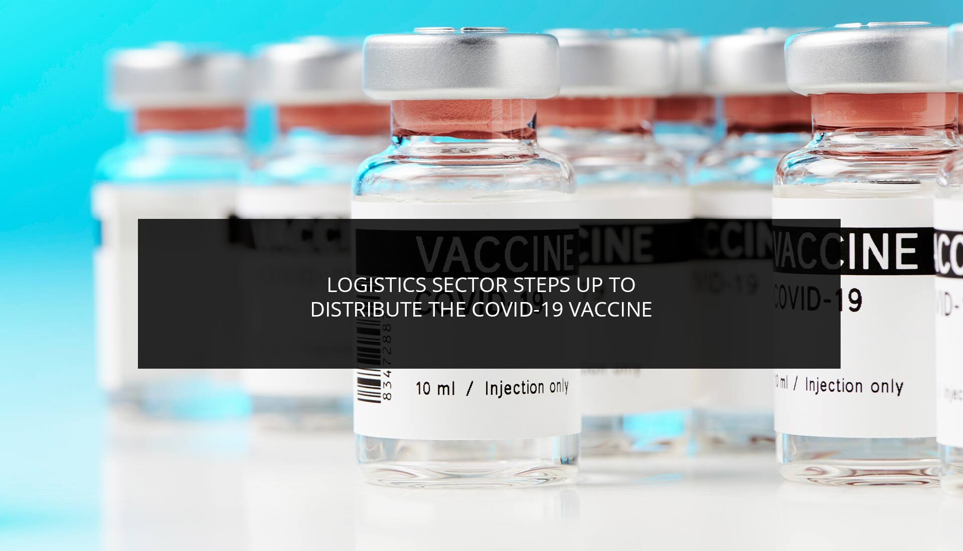 Logistics Sector Steps Up to Distribute the COVID-19 Vaccine